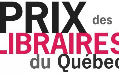 Les gagnants des Prix des libraires du Québec 2016 – catégorie roman