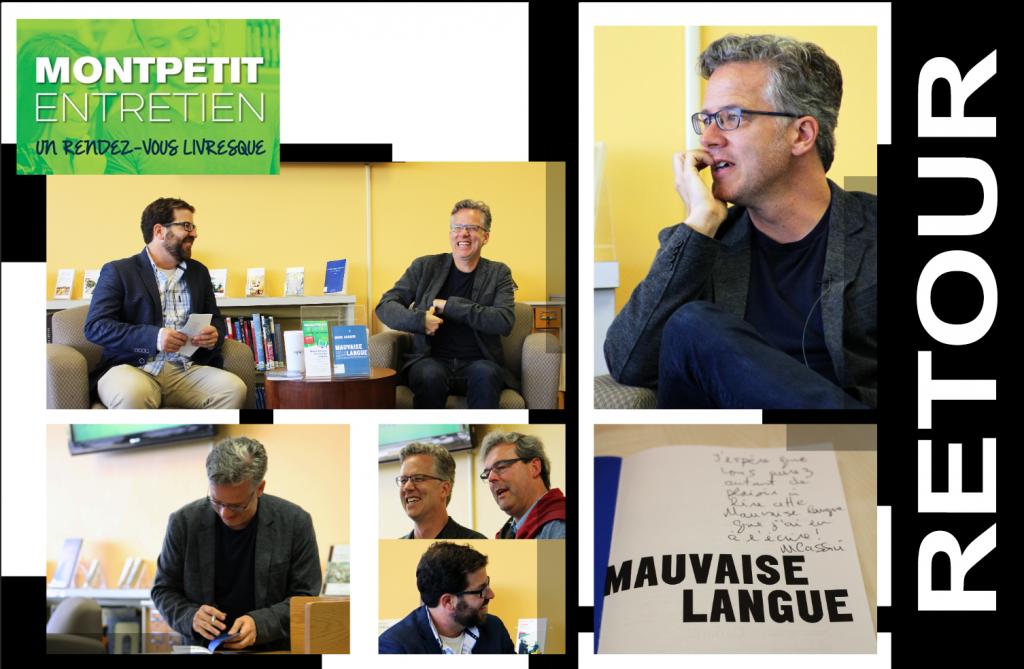 Retour sur le «Montpetit entretien» avec Marc Cassivi